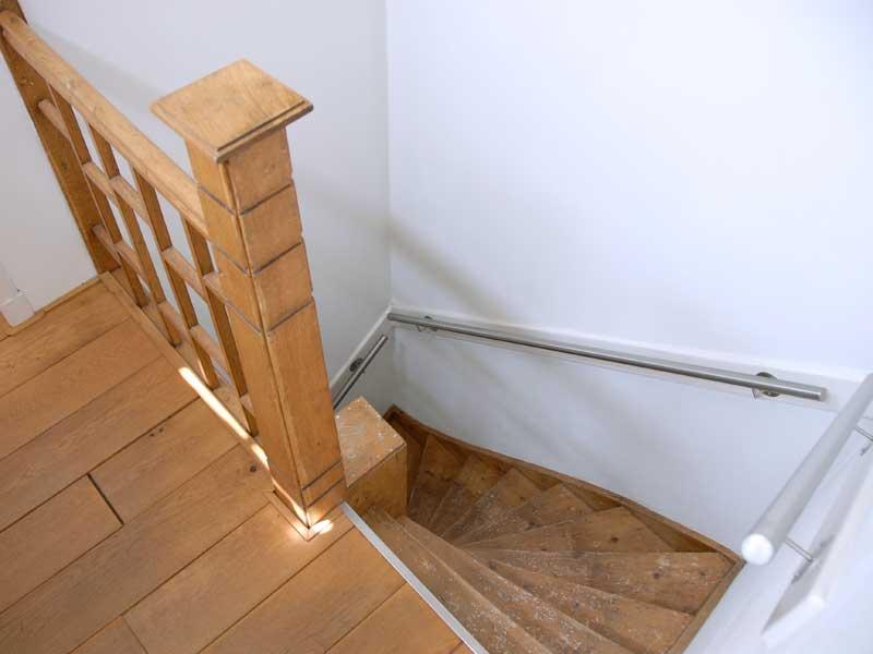 Renovatie interieur en schilderwerk voor herenhuis housedesign - Model interieur trap ...