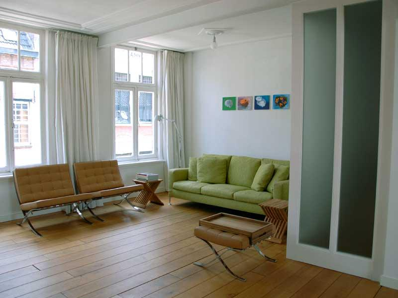 Woonkamer Herenhuis : Renovatie interieur en schilderwerk voor ...